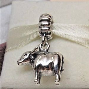 791103 Retired Pandora Ox dangle charm bead